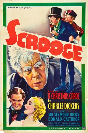 Scrooge - Movie Poster (thumbnail)