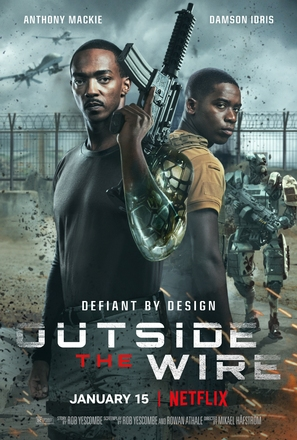 Outside the Wire - Movie Poster (thumbnail)
