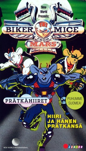 """Biker Mice from Mars"" - Finnish Movie Cover (thumbnail)"