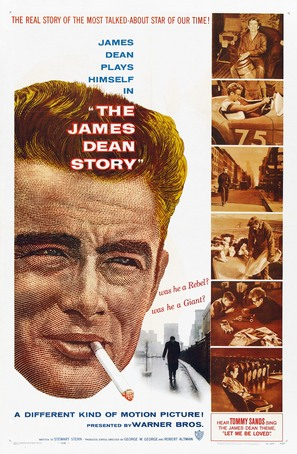 The James Dean Story - Movie Poster (thumbnail)
