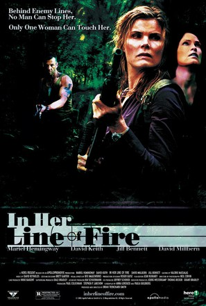 In Her Line of Fire - Movie Poster (thumbnail)