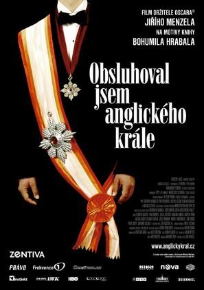 Obsluhoval jsem anglickèho krále - Czech Movie Poster (thumbnail)