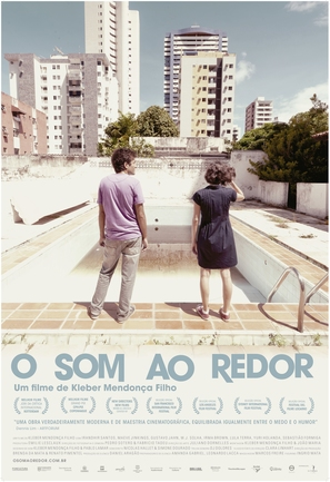 O som ao redor - Brazilian Movie Poster (thumbnail)