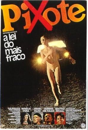Pixote: A Lei do Mais Fraco - Brazilian Movie Poster (thumbnail)