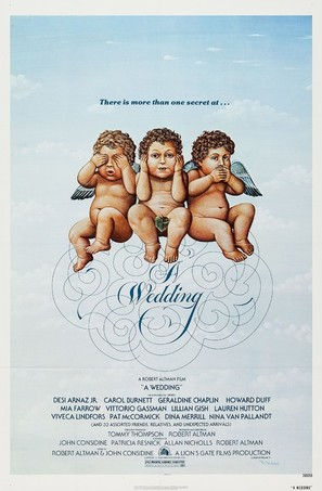 A Wedding - Movie Poster (thumbnail)