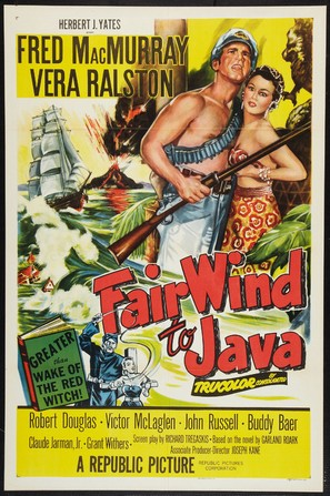 Fair Wind to Java - Movie Poster (thumbnail)
