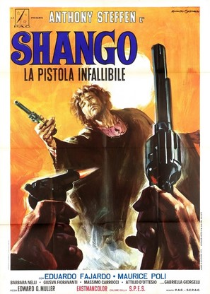 Shango, la pistola infallibile - Italian Movie Poster (thumbnail)