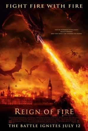 Reign of Fire - Movie Poster (thumbnail)