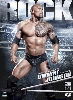 The Epic Journey of Dwayne 'The Rock' Johnson - DVD movie cover (thumbnail)