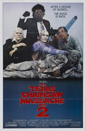 The Texas Chainsaw Massacre 2 - Movie Poster (thumbnail)
