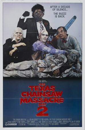 The Texas Chainsaw Massacre 2 - Movie Poster (thumbnail)