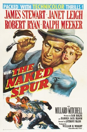 The Naked Spur - Movie Poster (thumbnail)