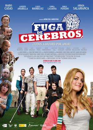 Fuga de cerebros - Spanish Movie Poster (thumbnail)