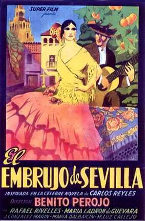 Embrujo de Sevilla, El - Spanish Movie Poster (thumbnail)
