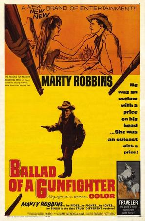 Ballad of a Gunfighter - Movie Poster (thumbnail)