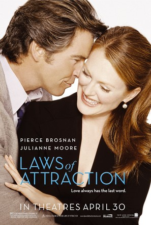 Laws Of Attraction - Movie Poster (thumbnail)