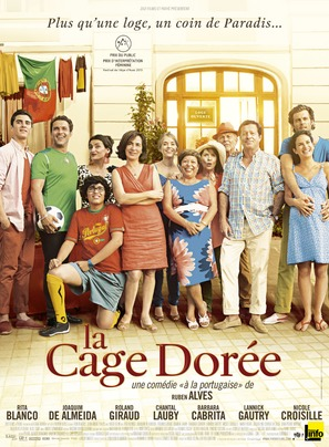 La cage dorée - French Movie Poster (thumbnail)