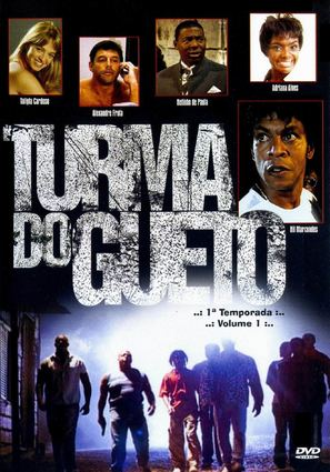 """Turma do Gueto"" - Brazilian Movie Cover (thumbnail)"