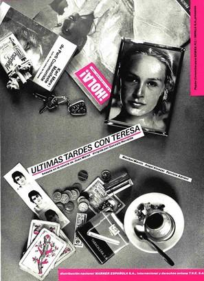 Últimas tardes con Teresa - Spanish Movie Poster (thumbnail)