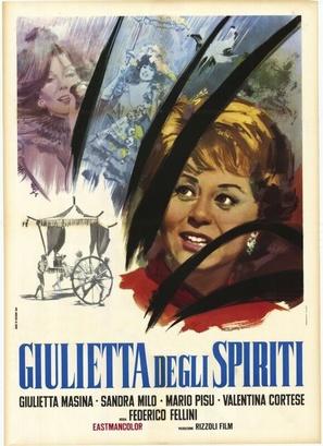 Giulietta degli spiriti - Italian Movie Poster (thumbnail)
