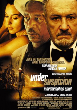 Under Suspicion - German Movie Poster (thumbnail)