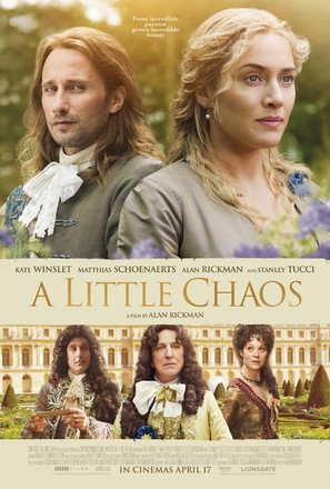 A Little Chaos - British Movie Poster (thumbnail)