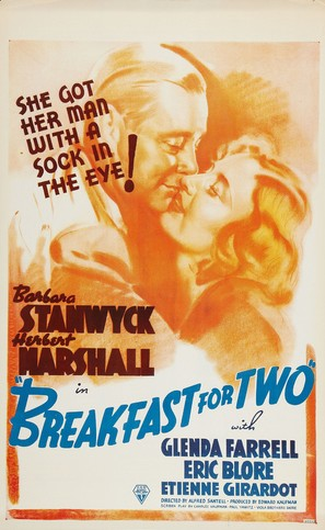 Breakfast for Two - Canadian Movie Poster (thumbnail)