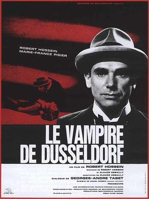Le vampire de Düsseldorf - French Movie Poster (thumbnail)