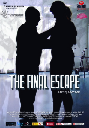 Al final de la escapada - British Movie Poster (thumbnail)