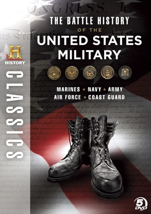 """Battle History of the U.S. Army"" - DVD movie cover (thumbnail)"