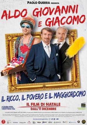 Il Ricco, il Povero e il Maggiordomo - Italian Movie Poster (thumbnail)