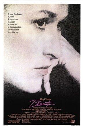 Plenty - Movie Poster (thumbnail)