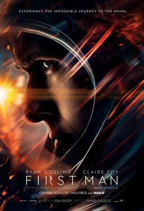 First Man (12A), Amy Robsart Hall, Syderstone, West Norfolk, PE31 8SD | The riveting story behind the first manned mission to the moon. | cinema