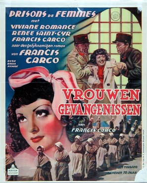 Prisons de femmes - Dutch Movie Poster (thumbnail)