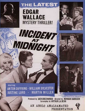 Incident at Midnight - British Movie Poster (thumbnail)
