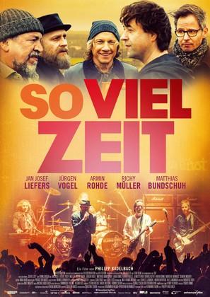 So viel Zeit - German Movie Poster (thumbnail)