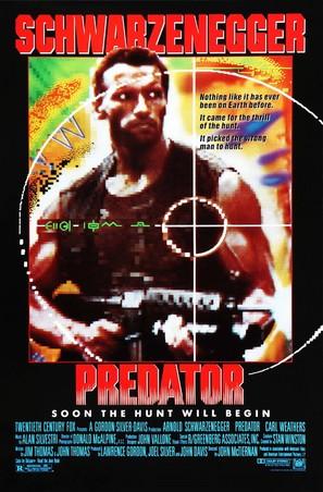 Predator - Movie Poster (thumbnail)