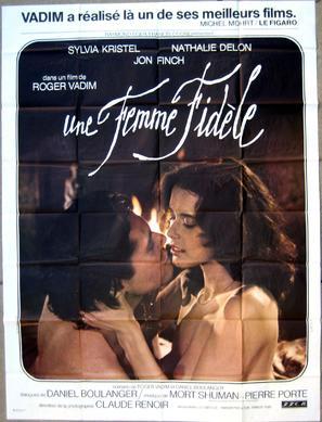 Une femme fidèle - French Movie Poster (thumbnail)