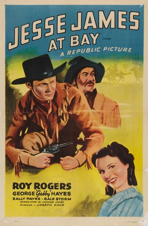 Jesse James at Bay - Re-release poster (thumbnail)