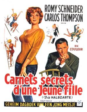 Die Halbzarte - Belgian Movie Poster (thumbnail)