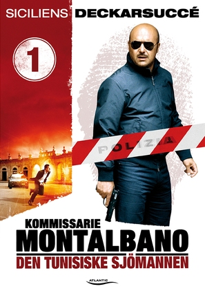 """Il commissario Montalbano"" - Swedish DVD movie cover (thumbnail)"