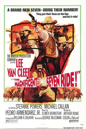 The Magnificent Seven Ride! - Movie Poster (thumbnail)