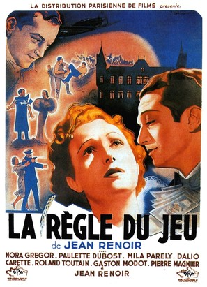 La règle du jeu - French Movie Poster (thumbnail)