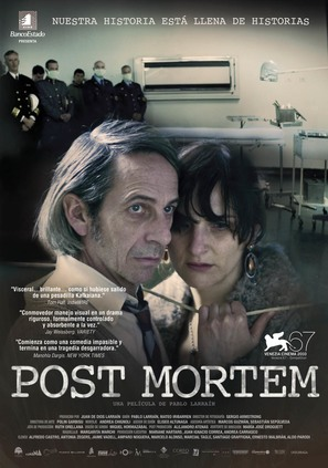 Post Mortem - Chilean Movie Poster (thumbnail)