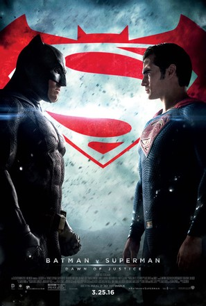 Batman v Superman: Dawn of Justice - Theatrical poster (thumbnail)