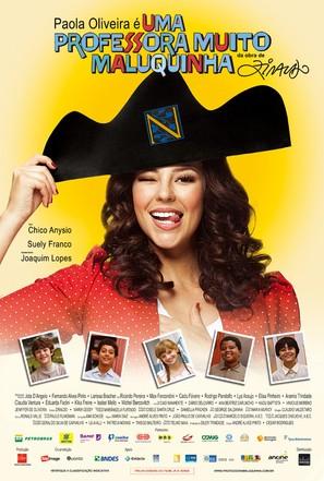 Uma Professora Muito Maluquinha - Brazilian Movie Poster (thumbnail)