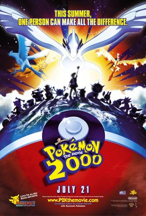 Pokémon: The Movie 2000 - Movie Poster (thumbnail)