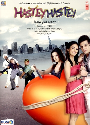 Hastey Hastey Follow Your Heart! - Indian poster (thumbnail)