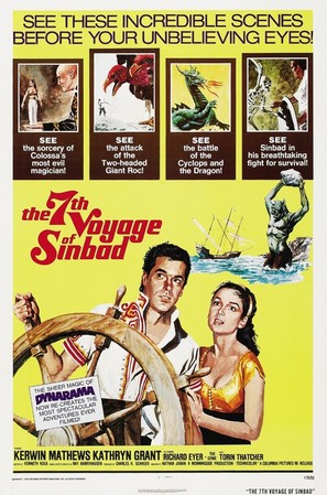 The 7th Voyage of Sinbad - Movie Poster (thumbnail)