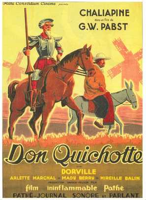 Don Quixote - French Movie Poster (thumbnail)